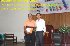 Teacher of the Year -2019