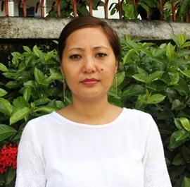 Ms. Yangrula Nokdir, Montessori Teacher