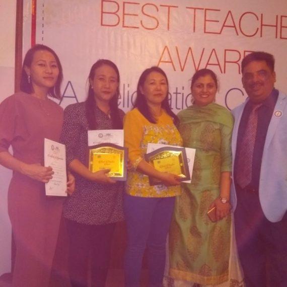 Three (3) DMHSS teachers Felicitated