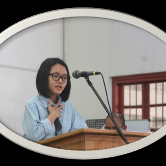 Ms. Sangerbenla Tzudir DMHSS Topper in HSLC, 2018 (6th Position)